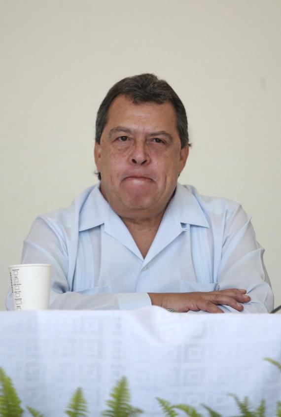 Los ciudadanos exigían la renuncia del Gobernador de Guerrero, Ángel Aguirre Rivero. Foto: Cuartoscuro.
