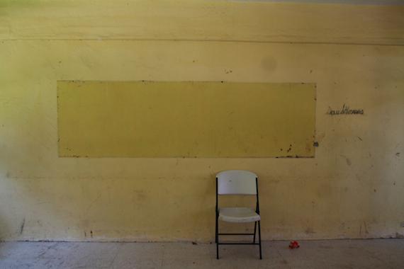 En uno de los edificios están las aulas de primero. Foto: Antonio Cruz, SinEmbargo.