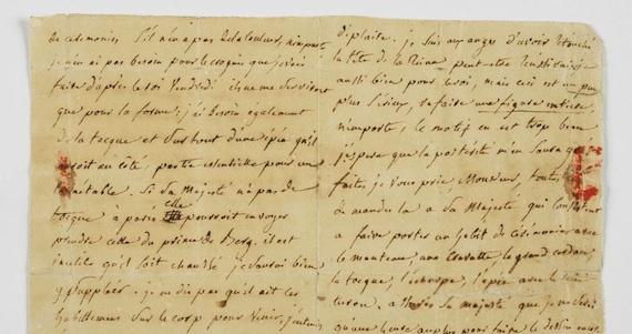 La frase que da título a la muestra proviene de una carta del escritor Léon Bloy a la danesa Jeanne Molbech. Foto: Museo de Cartas de París