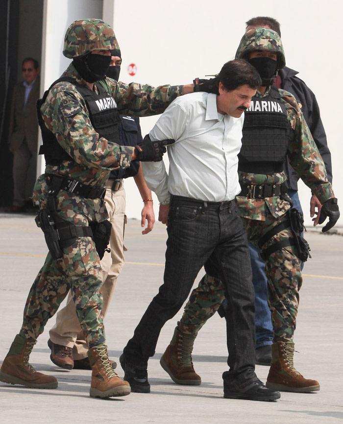 El regreso a prisión. Foto distribuida por el Gobierno de México