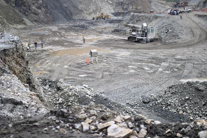 La mina de Ternium en San Miguel de Aquila.