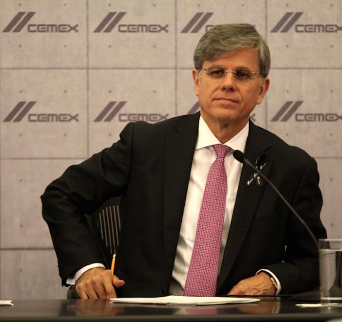 Fernando González Oliveri, director general de Cemex. Foto: Cuartoscuro.