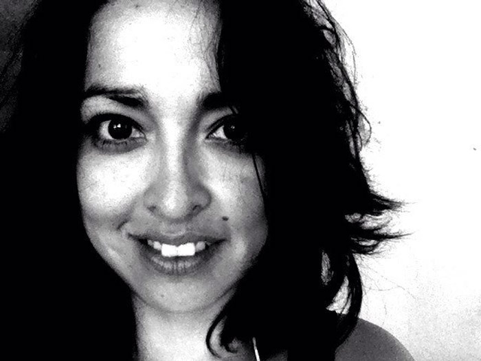 Nadia Vera, en su foto de Twitter.