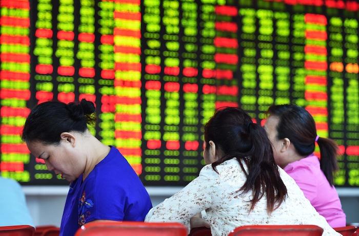 Bolsa China de Shanghái. Foto: Xinhua