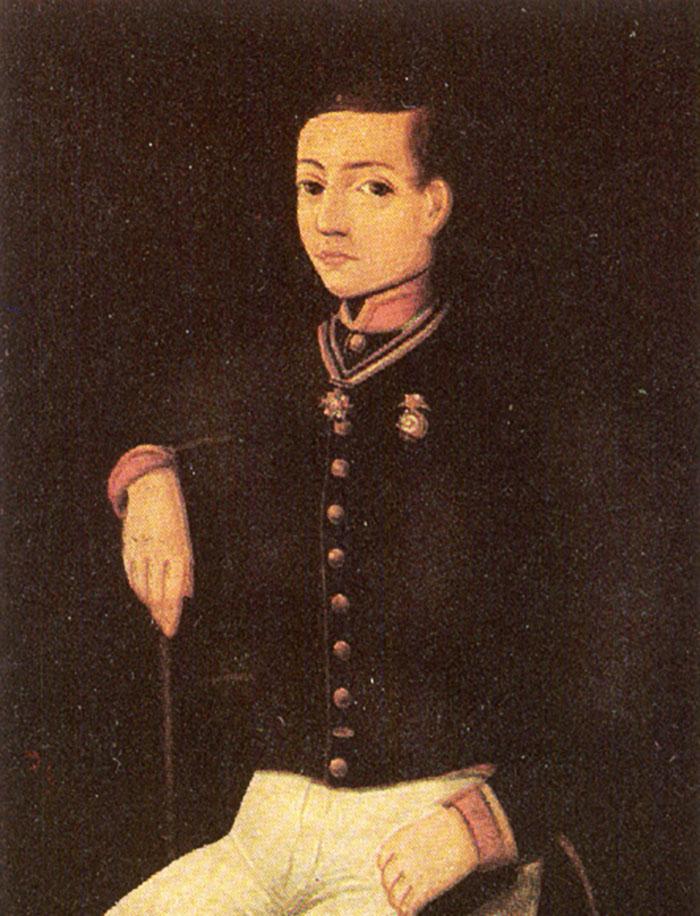 Juan Escutia, sí murió por la Patria, pero no envuelto en la bandera.