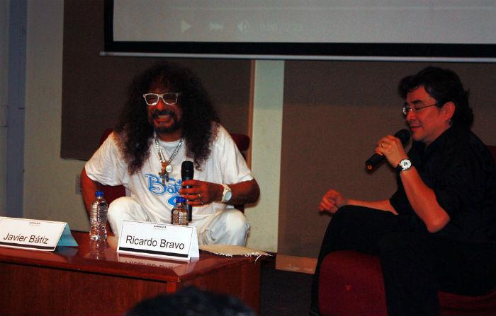 El legendario guitarrista de Tijuana protagonizó una sesión de escucha en la Fonoteca Nacional. Foto: Conaculta/Rubén Pax