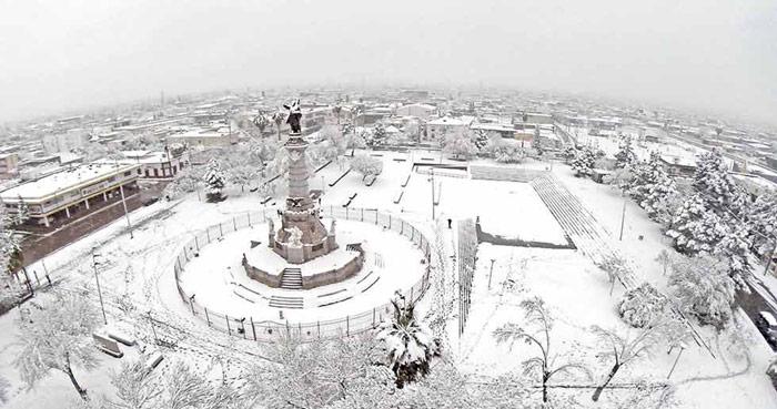 En el corazón de Ciudad Juárez. Foto: El Diario/SinEmbargo