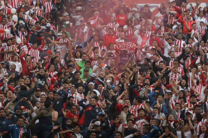 Al final las Chivas parecieron conformarse con su invasión y con el empate. Foto: Valentina López, SinEmbargo
