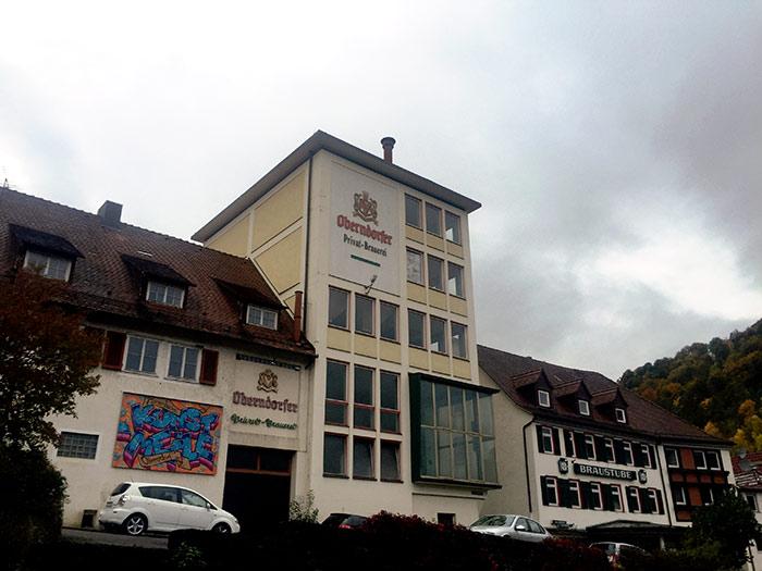 Como todas las ciudades del sur alemán, esta también posee su fábrica de cerveza