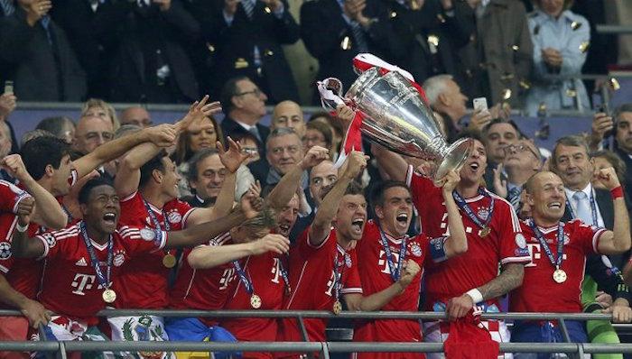 Tan solo tres clubes se han quedado con un tercio de las finales de la Champions. Foto: EFE