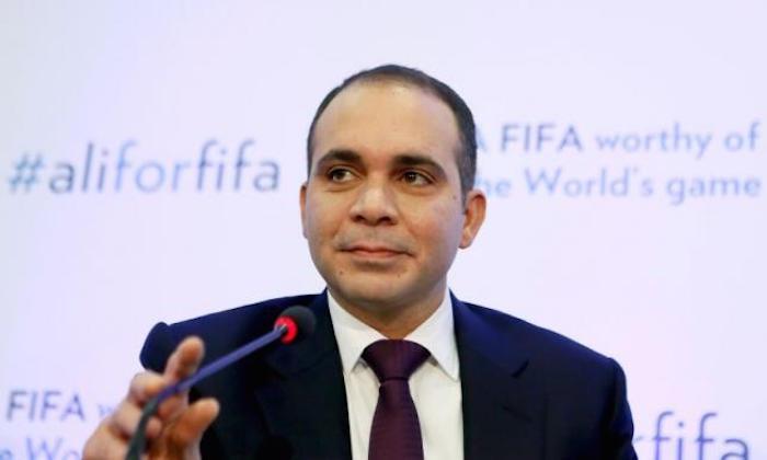 El príncipe jordano es uno de los principales candidatos para quedarse con la presidencia de la FIFA. Foto: @AliBinAlHussein