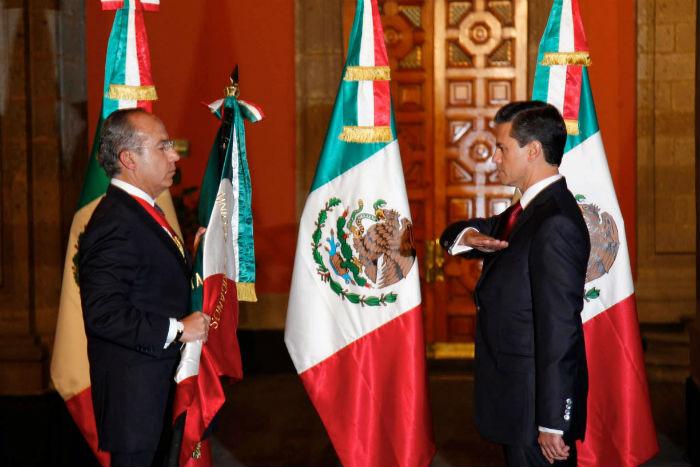 A su llegada a la Presidencia, Enrique Peña Nieto cambió el discurso, pero los asesinatos y desapariciones en el país no terminan. Foto: Cuartoscuro