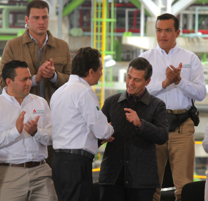 Emilio Lozoya deja la dirección de Pemex. Foto: Cuartoscuro