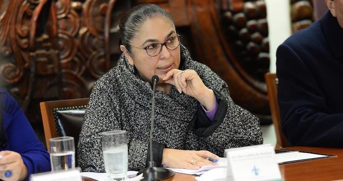 Sandra Ladrón, rectora de la Universidad Veracruzana. Foto: Especial