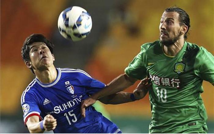 Clubes asiáticos como el Jeonbuk Motors están mejor colocados en el ranking mundial que muchos finalistas de la Champions. Foto: EFE