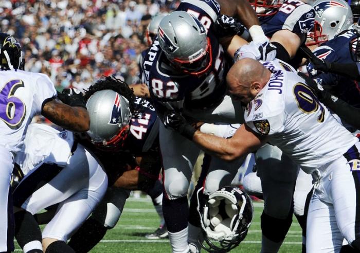 Cada vez son más los jugadores preocupados por las consecuencias físicas de su profesión. Foto: AP