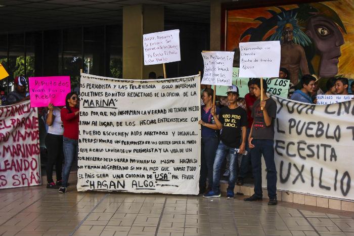 Protesta_Desplazados