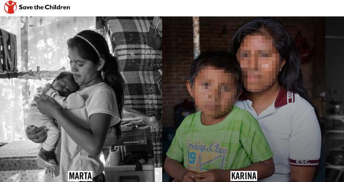 La campaña incluye los testimonios de madres adolescentes. Imagen: Hastaelultimonino.mx