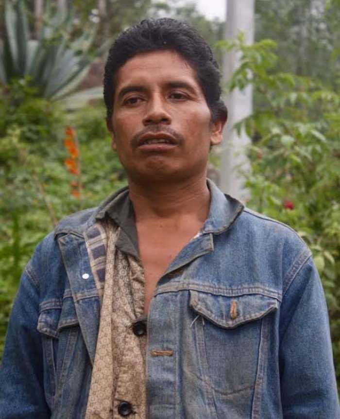 En la imagen, Macario Atlahua Temoxtle, habitante del municipio de Tehuipango en Veracruz. Foto: BlogExpediente.