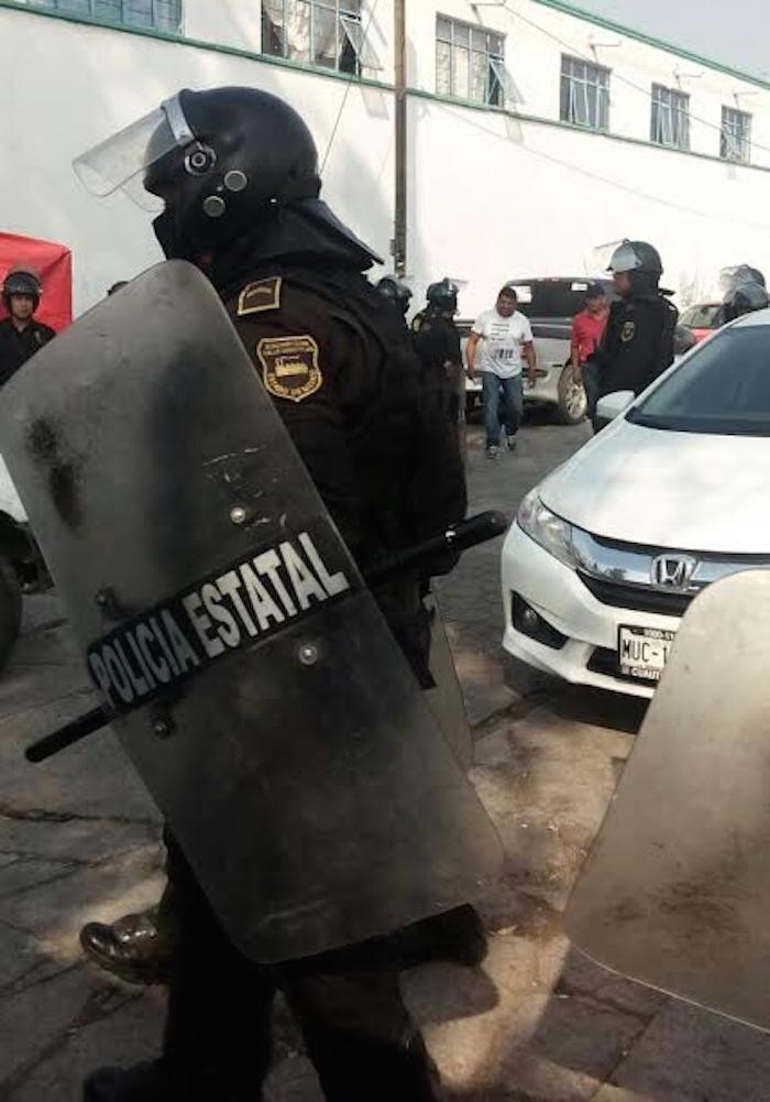 Los agentes policiacos arribaron al municipio donde el pasado finde semana