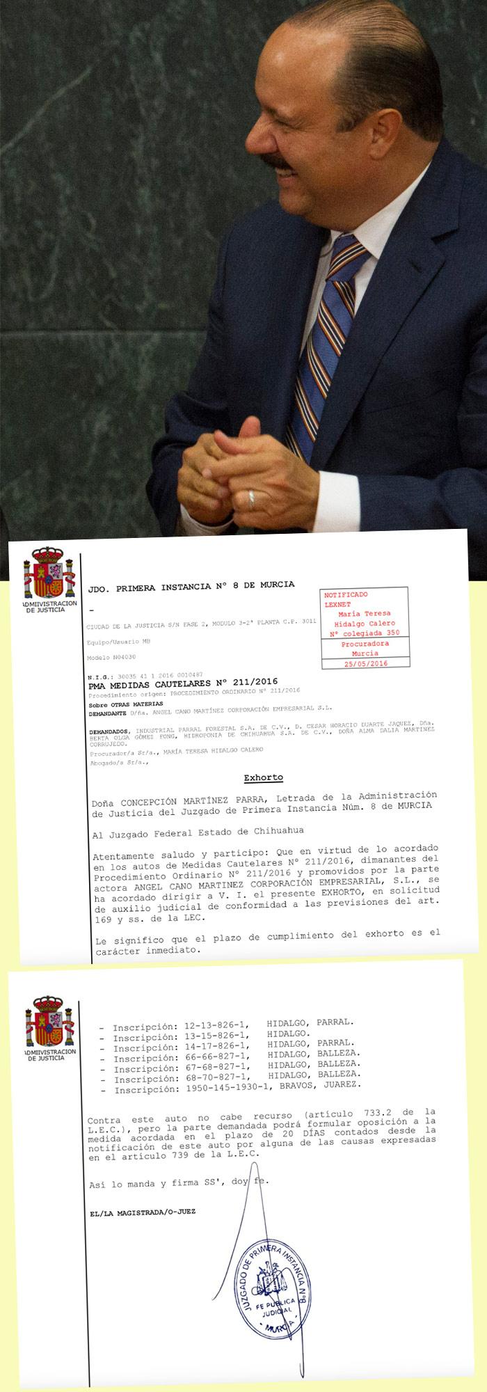 Documentos proporcionados por Jaime García Chávez. Foto: Cuartoscuro