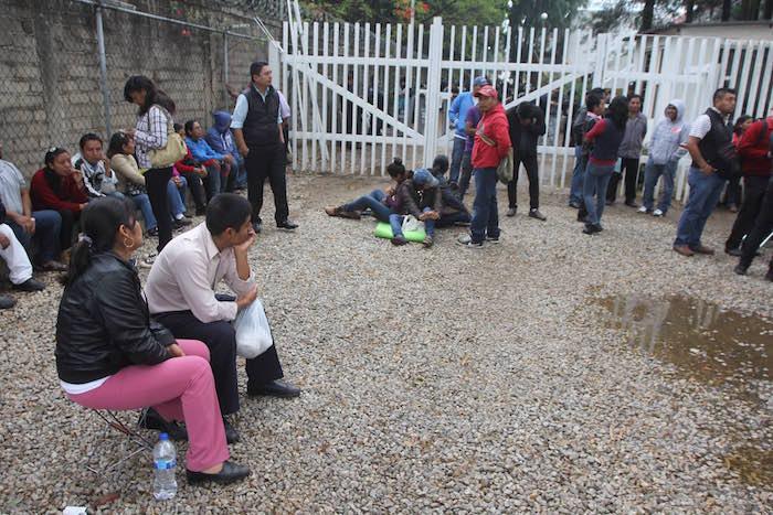 Desde el 15 de mayo, maestros agremiados a la Sección 22 de la CNTE suspendieron actividades y realizan diversas movilizaciones y bloqueos en el estado. Foto: Cuartoscuro.