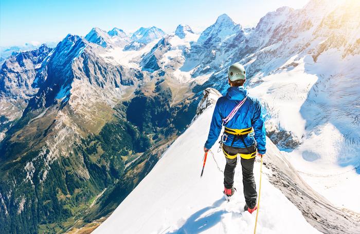 No es necesario escalar en la nieve para hacer turismo extremo. Foto: Shutterstock