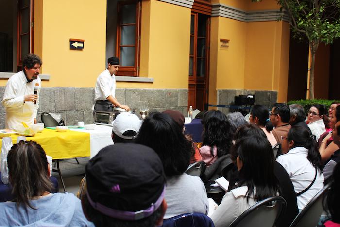 El chef e historiador Rodrigo Llanes, cabeza del proyecto. Foto: Fondeadora