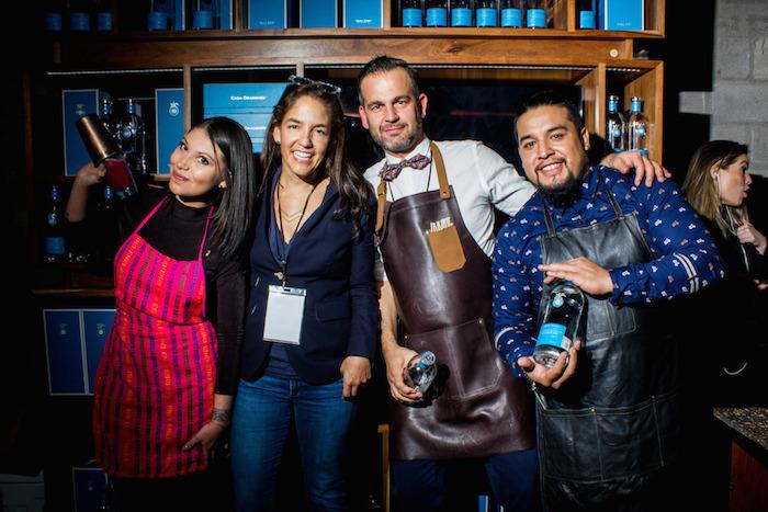 Lina Monge, Bertha González, Zoltan Nagy e Isaac Martínez. Foto: Another Company