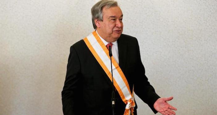 Guterres competía para el puesto con otros nueve aspirantes, pero ante sí tenía dos importantes desafíos: no es de Europa Oriental, la zona a la que le correspondería ahora designar al nuevo titular de la ONU, y tampoco es mujer. Foto: EFE