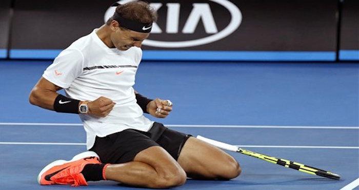 Exhibición de Federer en Australia