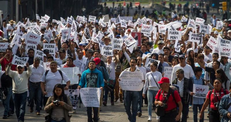 Image result for marcha gasolinazo unidad