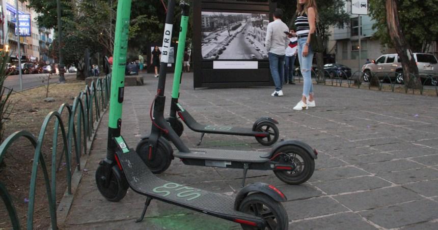 grin scooters - Los patines robados a Grin en la CdMx, que obligó a cerrar la empresa, se venden en Facebook