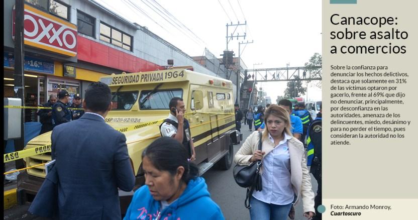 asaltos - Intento de asalto desata balacera en la CdMx; 2 presuntos delincuentes y un policía resultan heridos