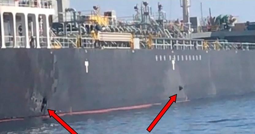 eu iran - Fuerza Naval de Irán captura otro barco extranjero por transportar combustible de contrabando