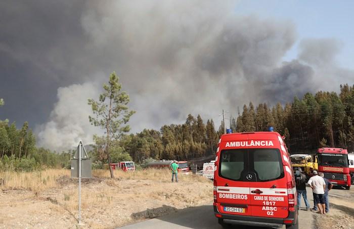 """15625481 - Incendios en Portugal están en """"fase de resolución""""; han arrasado más de 8 mil 500 hectáreas"""