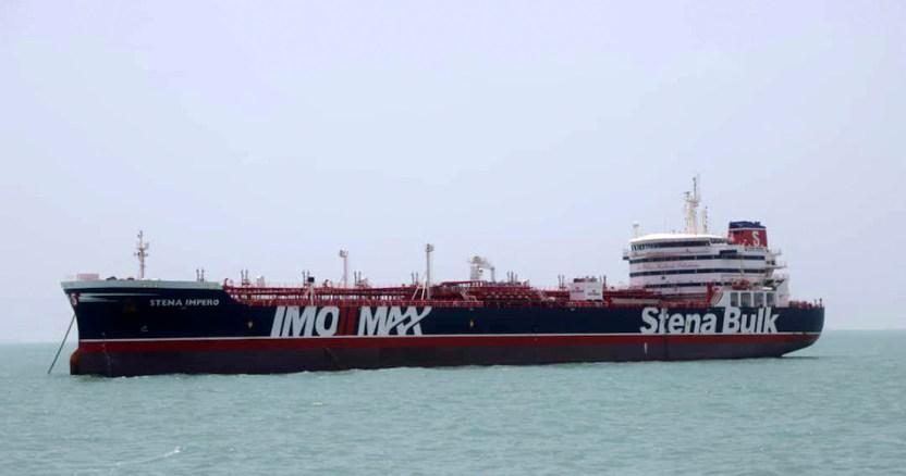 iran petroleo gb - Fuerza Naval de Irán captura otro barco extranjero por transportar combustible de contrabando