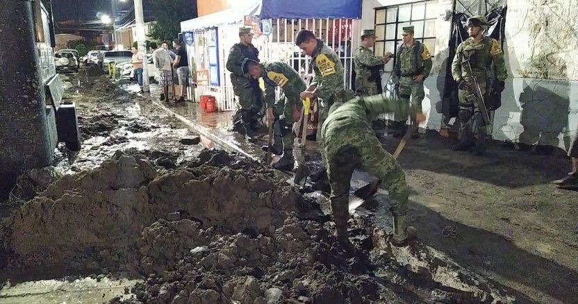 lluvias - La Sedena activa el Plan DN-III por lluvias en Tlajomulco, Jalisco; suman tres personas muertas