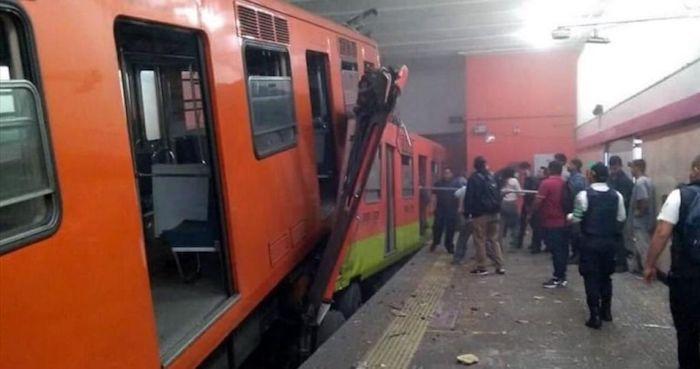 Información preliminar arroja un total de 41 heridos entre ellos, los dos conductores de los trenes y una persona de sexo masculino que perdió la vida. Foto: Especial, Cuartoscuro