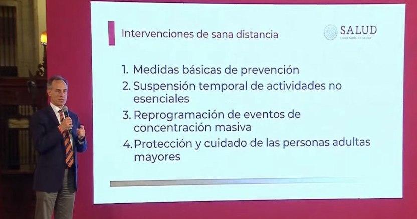 covid mexico 1 - Nuevo León confirma nuevo caso de coronavirus y suman 5 en el estado. Es un hombre que viajó a España