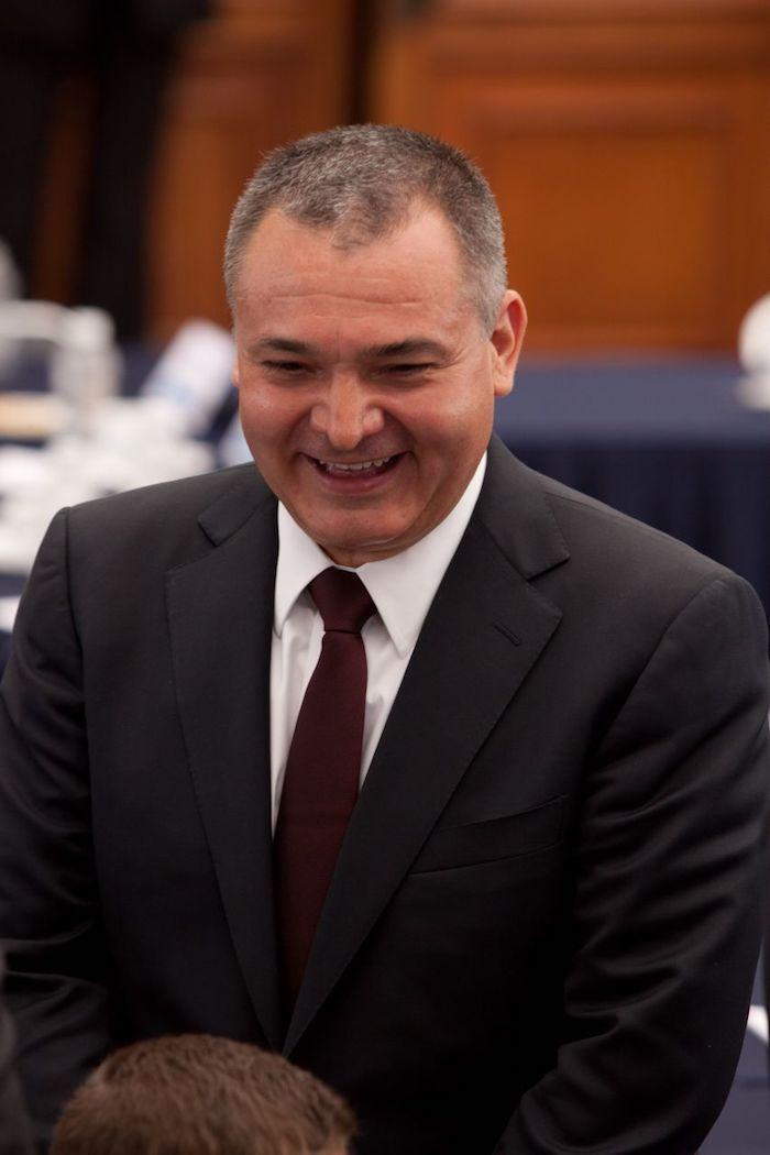 Genaro García Luna, Secretario de Seguridad Pública federal en el Gobierno de Felipe Calderón. Foto: Iván Stephens, Cuartoscuro