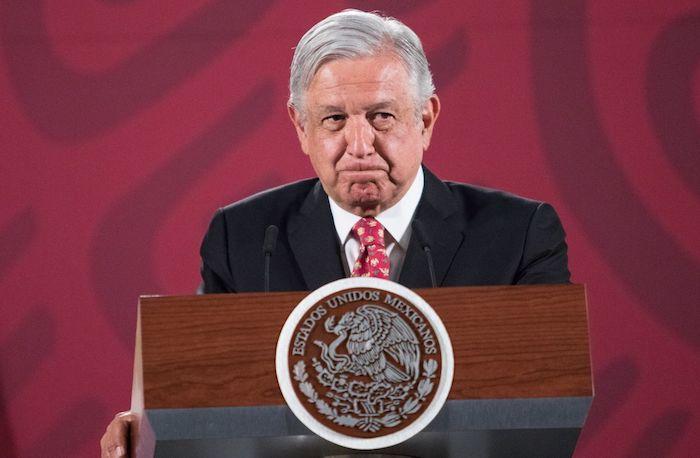 El Presidente de México, Andrés Manuel López Obrador, en Palacio Nacional. Foto: Victoria Valtierra, Cuartoscuro