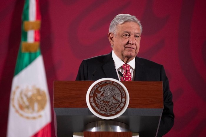 AMLO encabezó esta mañana su tradicional encuentro matutino con la prensa en Palacio Nacional. Foto: Gobierno de México