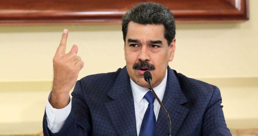 nicolas maduro - AMLO apela al principio de no intervención ante los cargos presentados por EU contra Maduro