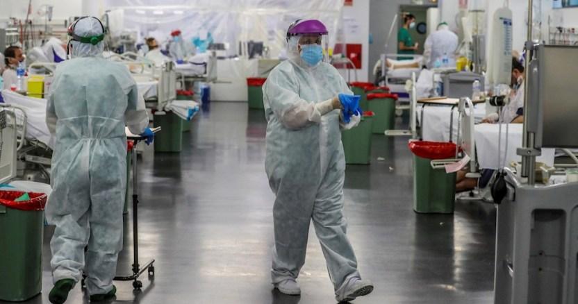 espana muertes - España reporta otras 619 muertes por COVID-19; acumula 16,972 decesos y 166,019 contagios