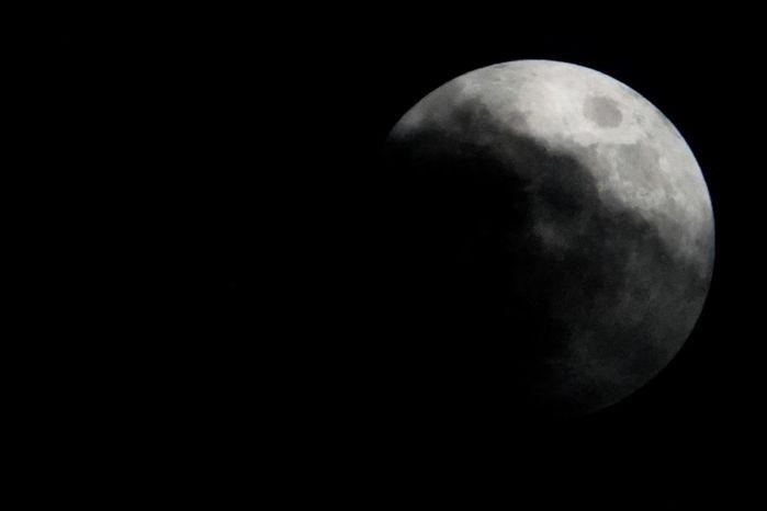 luna de trueno - FOTOS: La Tierra proyecta su sombra sobre la Luna durante el tercer eclipse penumbral del 2020