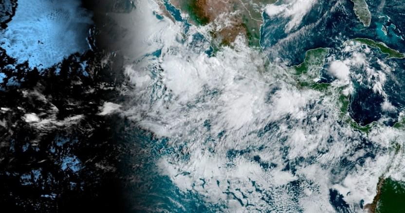 """tormenta tropical - Al menos 380 personas son desalojadas por el paso de la tormenta """"Hernán"""" en el occidente de México"""