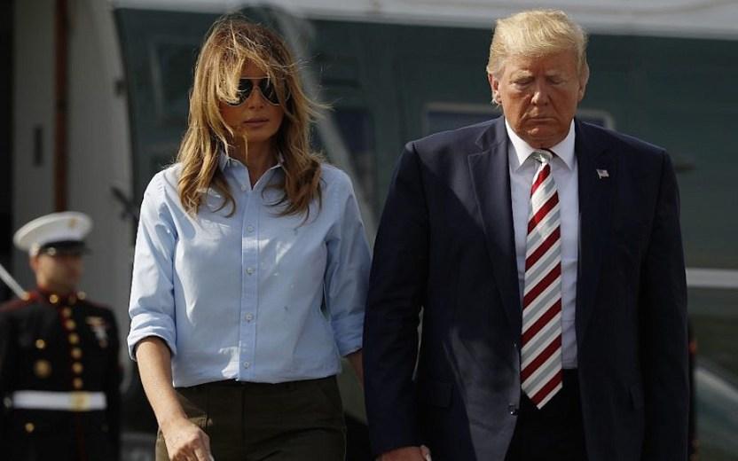 """ap19216743953332 1024x640 - """"Esta noche dimos positivo por COVID-19"""". Trump confirma que él y Melania entraron en cuarentena"""