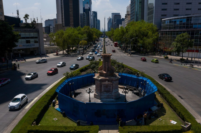 La Jefa de Gobierno de la CDMX anunció que la estatua a Colón no regresará a su lugar