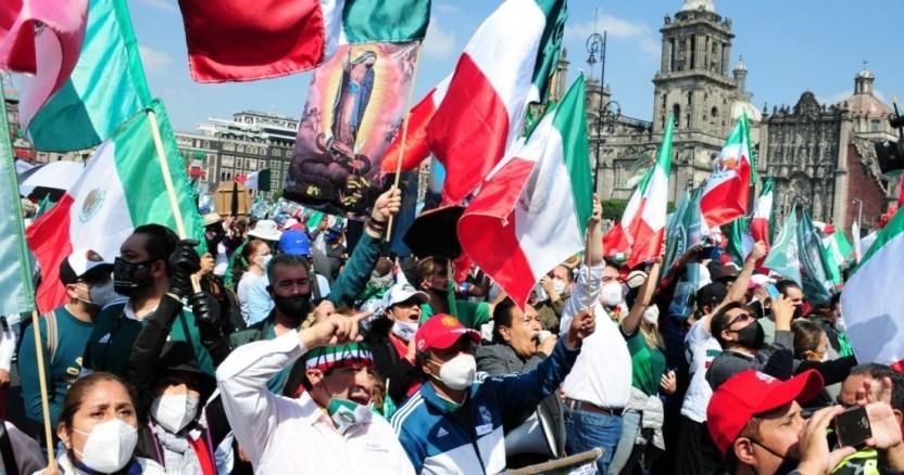 frena 2 - Manifestaciones podrían elevar la curva de casos de COVID-19 en la Ciudad de México, alerta Salud